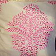 Arabesque cushion
