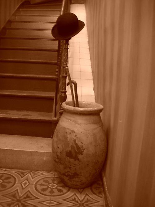 Sepia entrance