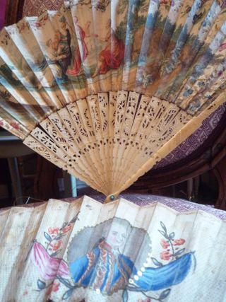 XVIII th century fans