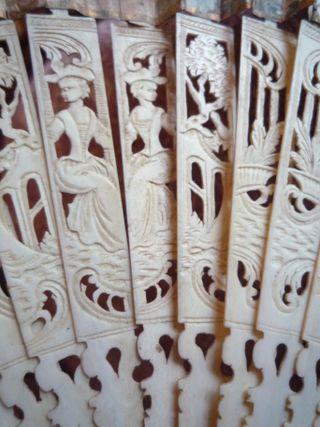 Detail of the fan
