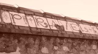 Poterie ravel vintage sign