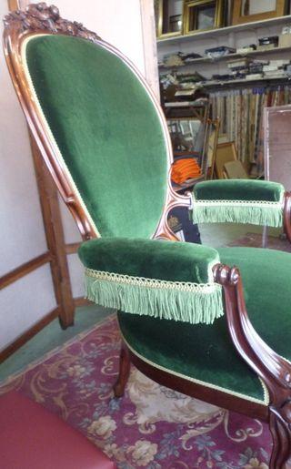 King's armchair