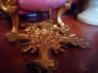 Gilded cross