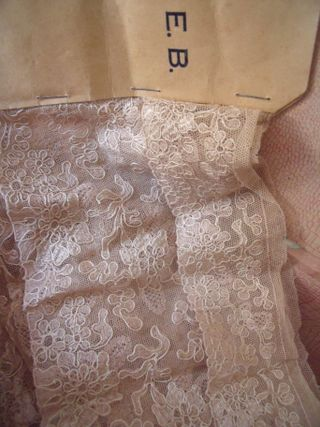 Samples of lace