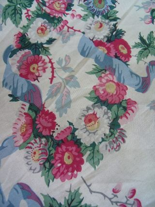 Bouquet on toile
