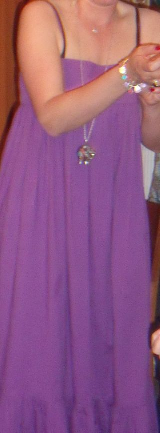 Gypsy purple dress