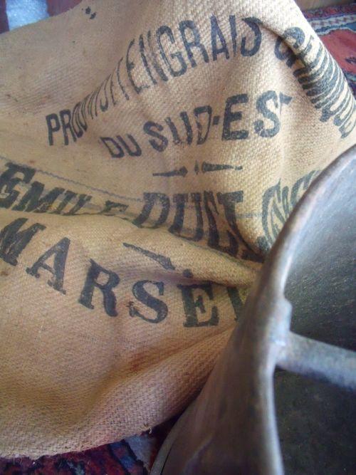 Old factory bag