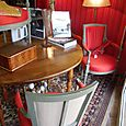 Coral set of 6 louis XVI armchairs fauteuils