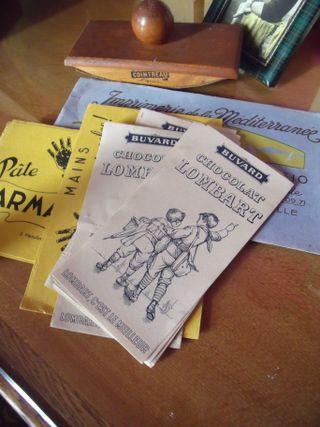 Suchard blotting papers
