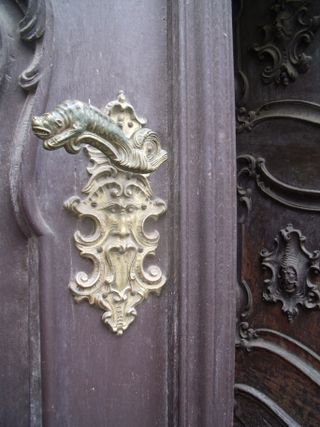 Door handle in prague