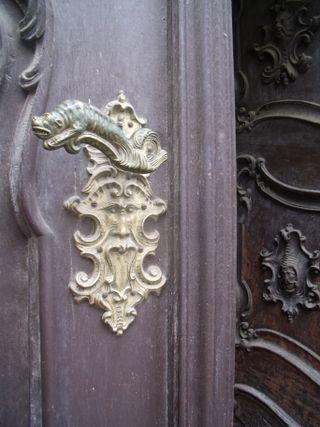 Door handle in prague