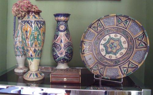 Oriental blue inspiration