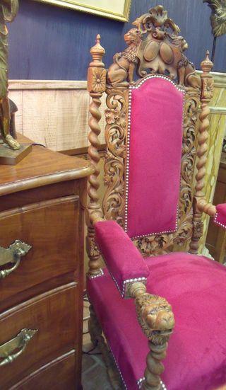 Modern king armchair
