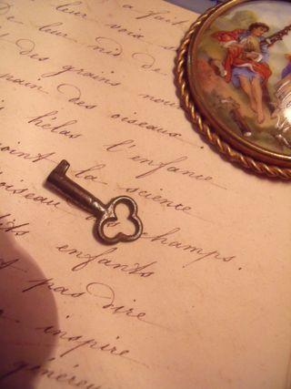 Key of the little shop