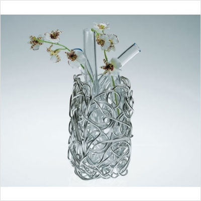 Vase by fratelli campana for alessi