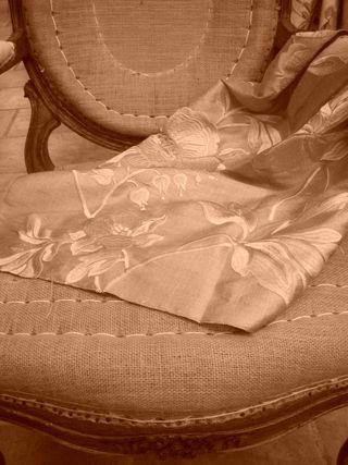 XVIII upholstery