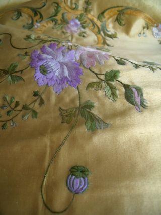 Vintage silk
