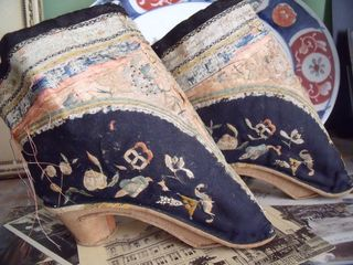 Chinese antique shoes