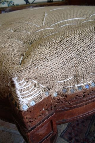 Detail of upholstery