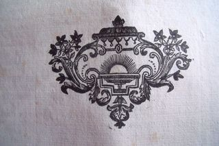 Engraving in a XVIII th book
