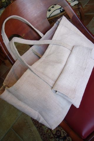 Other bag with grain sack toile