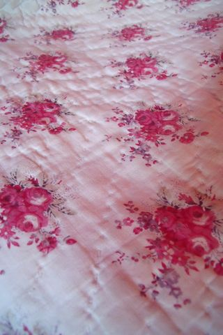French boutis coverlet