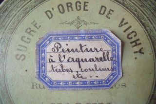 Detail of the box