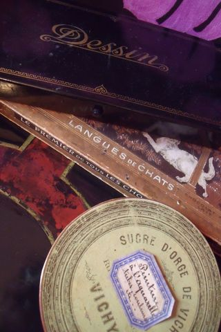 French antique boxes