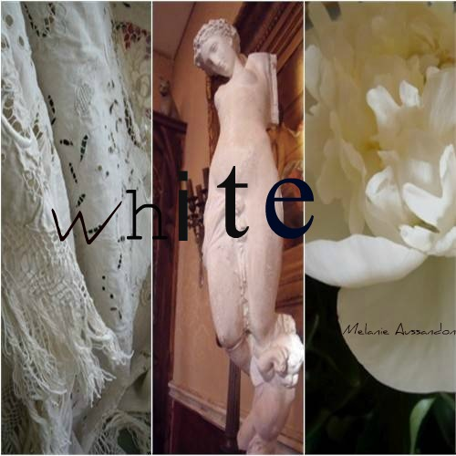 White antique atmosphere