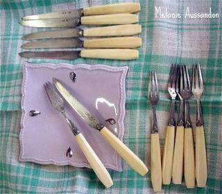 Dessert cuttlery