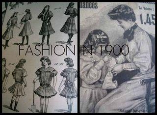 French antique fashion