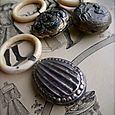 French antique rattles