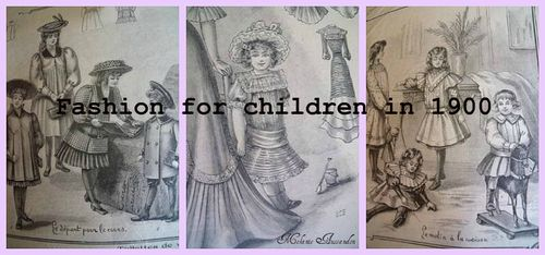 Antique fashion for children