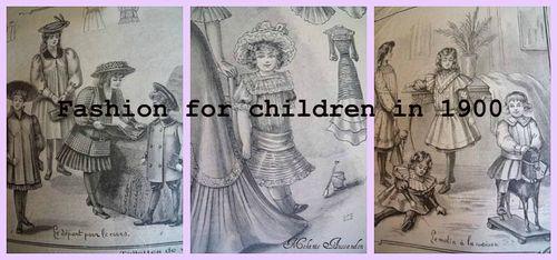 Antique fashion for children