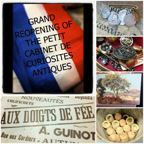 FRENCH ANTIQUES GRAND REOPENING