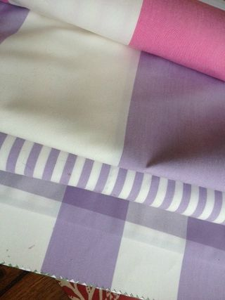 Canovas fresh stripes in purple