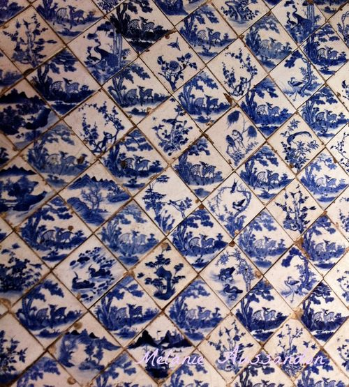 Antique chinese tiles