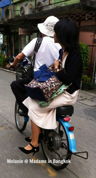 Chic ride in Bangkok