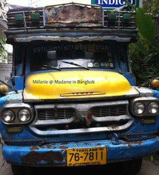 Exotic truck in Bangkok thailand