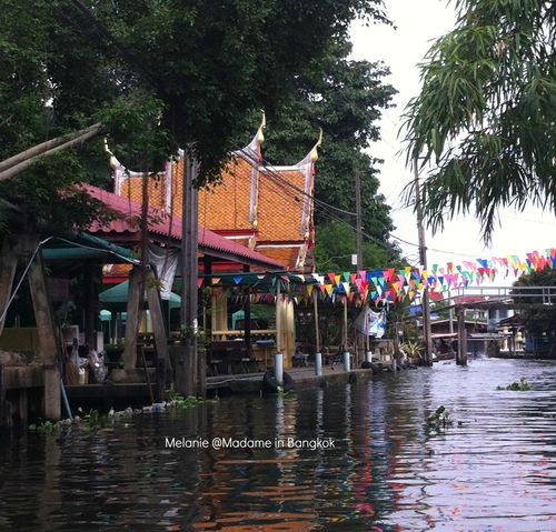 Khlong life in Bangkok