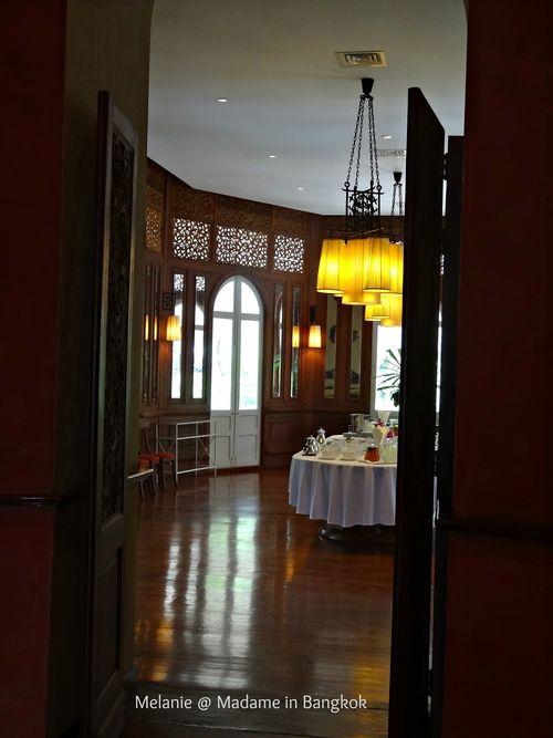 Residence de France Bangkok salle a manger