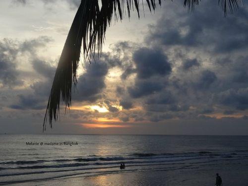 Coucher de soleil 1 sur koh chang