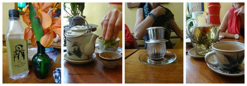 Drinks @ Saigon Recipe collage