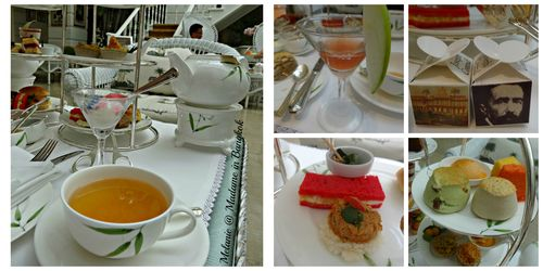 Authors lounge @ MO Bangkok tea time Collage