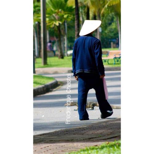Man in Lumpini , Bangkok