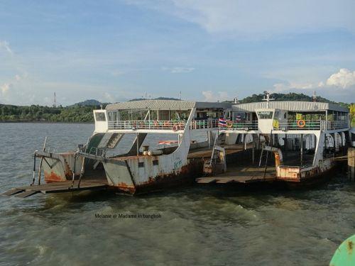Une petite idée du ferry pour koh chang