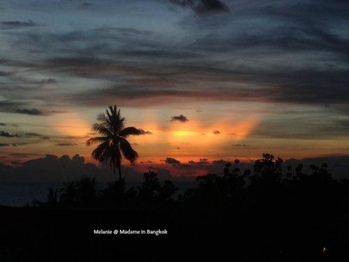 Coucher de soleil sur Koh chang