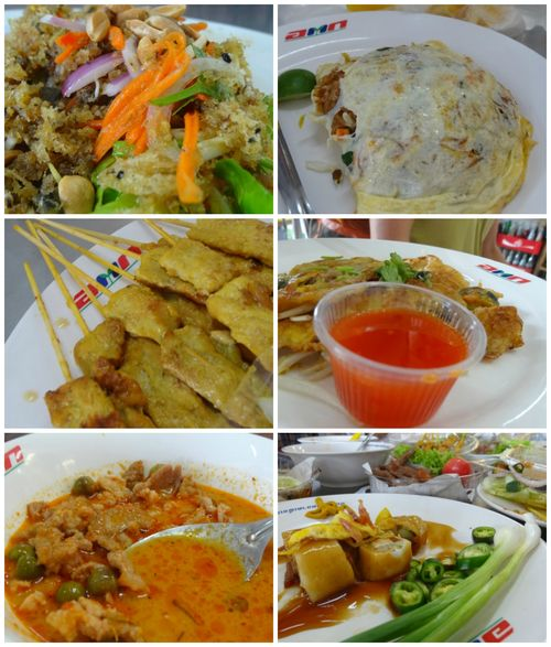 Or tor kor market food court Collage