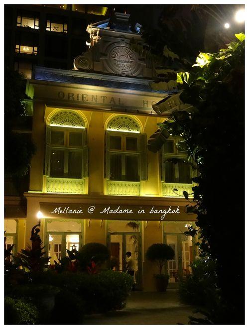 L'oriental  mythic hotel in Bangkok