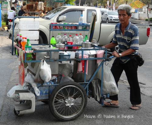 Coca Cola in the streets of Bangkok